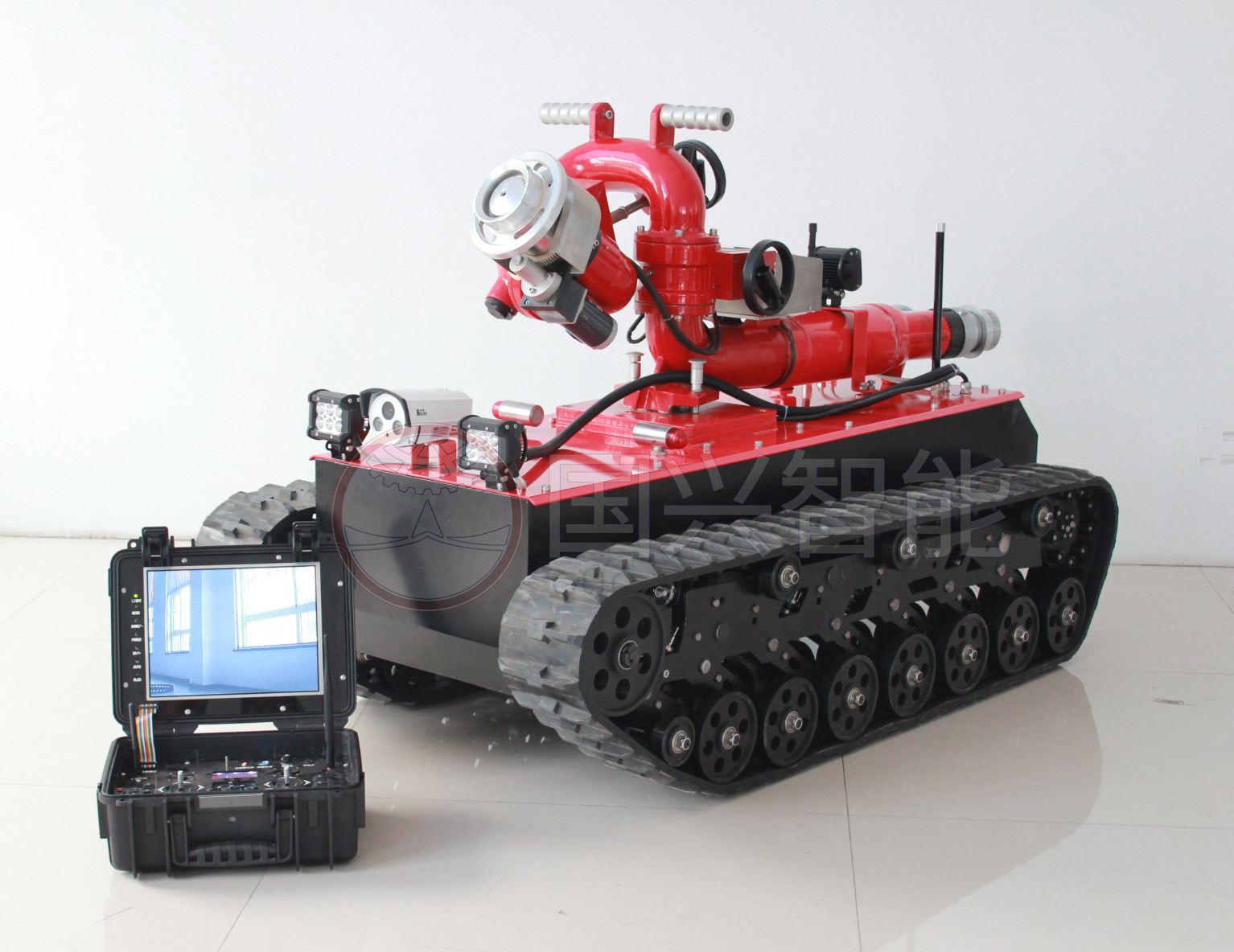 Guoxing FIrefighting Robot will be soon in Mexico Fire Brigade 4